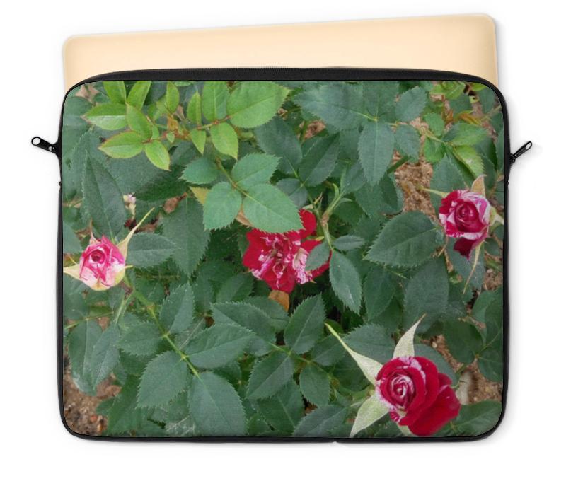 Чехол для ноутбука 12 Printio Красные розы розы для любимой