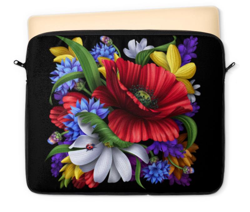 Чехол для ноутбука 12 Printio Композиция цветов свадебная композиция