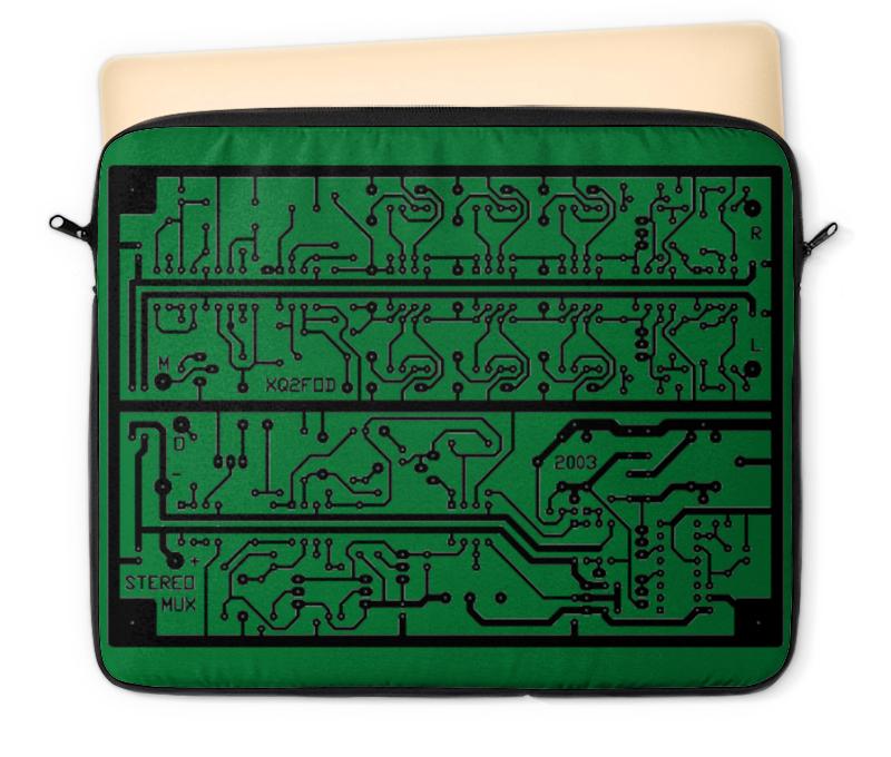 Чехол для ноутбука 12 Printio Электроника электроника в автомобиле вып 123