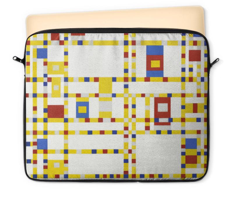 Чехол для ноутбука 12 Printio Бродвей буги-вуги (питер мондриан) чехол для карточек пит мондриан дк2017 110