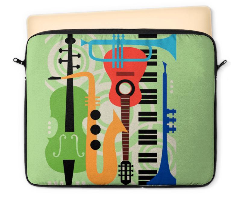 Чехол для ноутбука 12 Printio Музыкальные инструменты музыкальные инструменты для детей в н новгороде