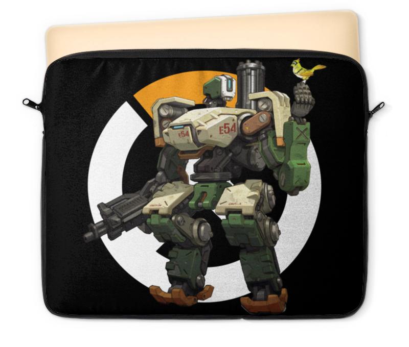 Чехол для ноутбука 12 Printio Overwatch bastion / овервотч бастион сумка с полной запечаткой printio overwatch bastion овервотч бастион