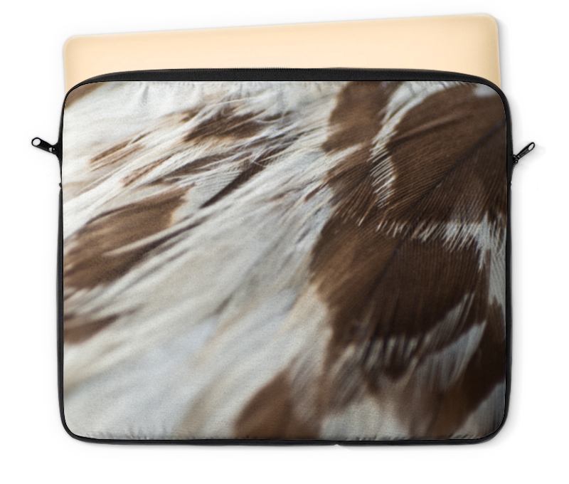 Чехол для ноутбука 12 Printio Орлиные перья макаронные изделия bioitalia перья крупные 500г