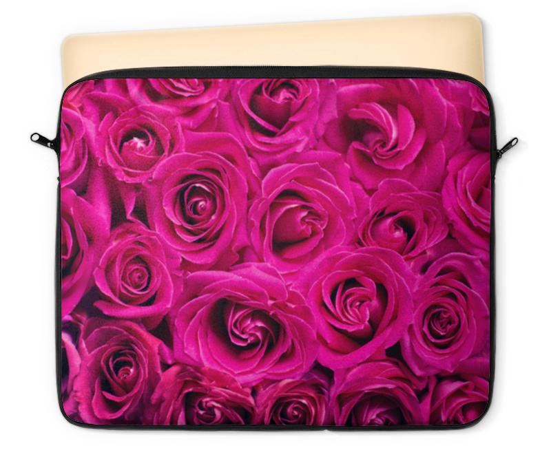 Чехол для ноутбука 12 Printio Pink roses чехол для ноутбука 12 printio азимов