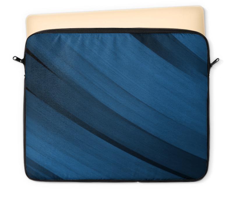 Чехол для ноутбука 12 Printio Синяя абстракция чехол для ноутбука 14 printio волк абстракция