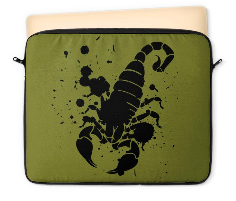 Чехол для ноутбука 12 Printio Скорпион (24.10-21.11)