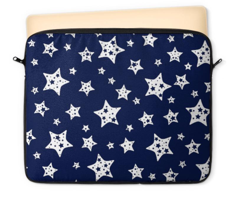 Чехол для ноутбука 12 Printio Звёзды чехол для карточек пионы на синем фоне дк2017 113