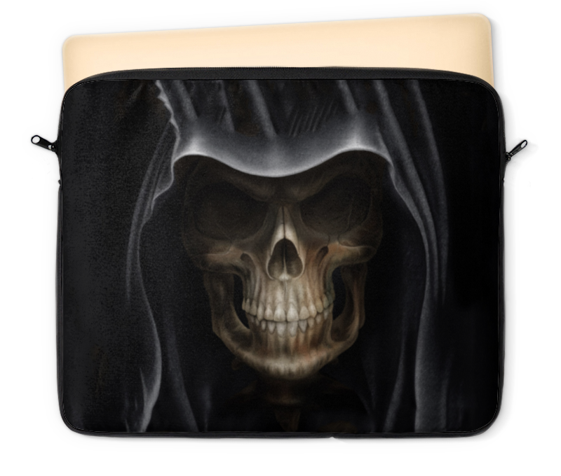 Чехол для ноутбука 12 Printio Череп в капюшоне холст 30x30 printio череп в капюшоне