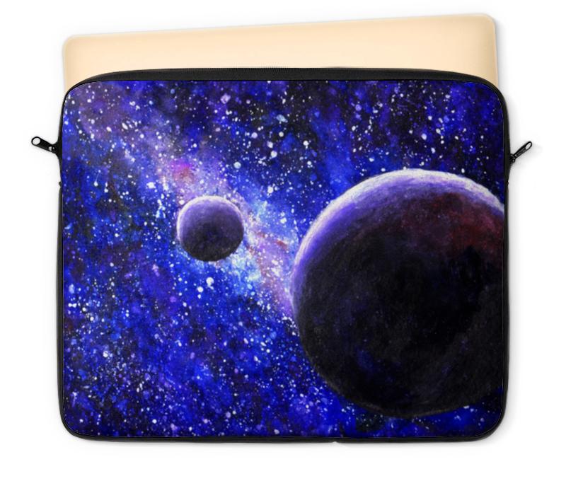 Чехол для ноутбука 12 Printio Космос, планеты и звезды