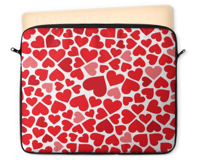 Чехол для ноутбука 12 Printio Любовь chokocat лучшему учителю лучшие ученики молочный шоколад 60 г