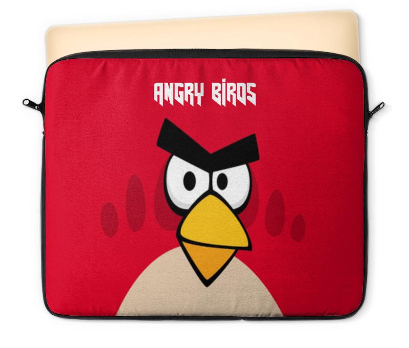 Чехол для ноутбука 12 Printio Angry birds (terence) чехол gear4 angry birds pig king для new ipad ipad2 ipab303g