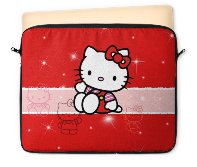 Чехол для ноутбука 12 Printio Hello kitty с искрами nepia nepia мокрая ткань 10 katie hello kitty мультфильм серии закачке мешок пакета 12
