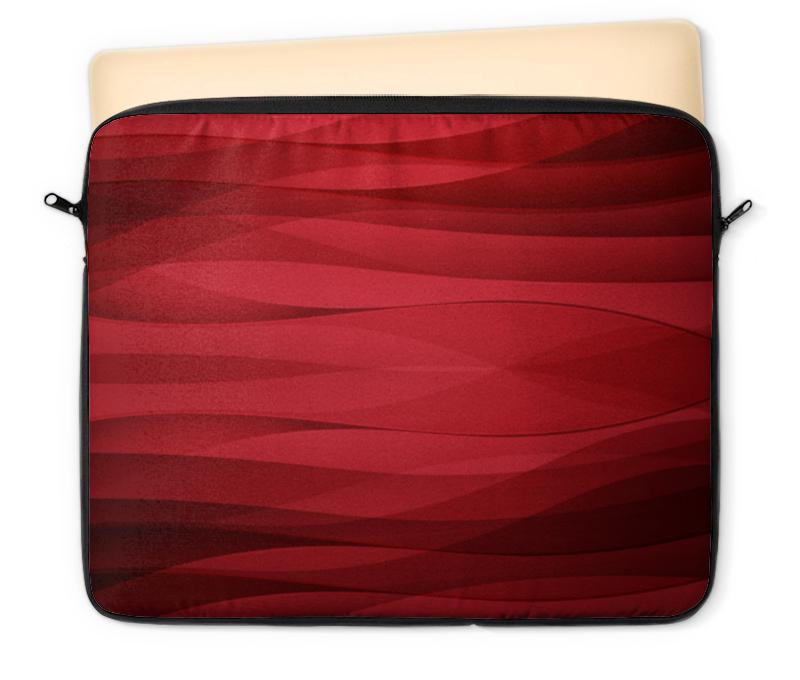 Чехол для ноутбука 12 Printio Красная абстракция чехол для ноутбука 14 printio волк абстракция