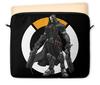 """Чехол для ноутбука 12"""" """"Overwatch Reaper / Жнец Овервотч"""" - овервотч, жнец, reaper, overwatch, видеоигры"""