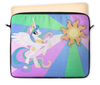 "Чехол для ноутбука 12"" ""Princess Celestia Color Line"" - magic, celestia, friendship, princess"