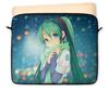 """Чехол для ноутбука 12"""" """"Miku Hatsune Sush"""" - аниме, hatsune, мику, бесконечное лето, miku"""