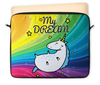"""Чехол для ноутбука 12"""" """"ЕДИНОРОЖКА!!!"""" - единорог, мечта, звёзды, unicorn, радуга"""