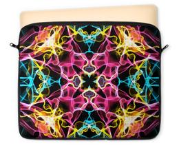 """Чехол для ноутбука 12"""" """"Электрик дизайн"""" - узор, орнамент, абстракция, декор, электрик"""