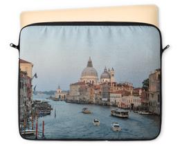 """Чехол для ноутбука 12"""" """"Венеция"""" - венеция, италия, путешествие, архитектура"""