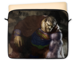 "Чехол для ноутбука 12"" ""Бизарро"" - комиксы, superman, супермэн, dc comics, bizarro"