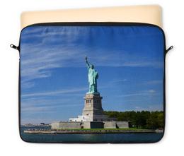 """Чехол для ноутбука 12"""" """"Статуя Свободы"""" - нью-йорк, америка, статуя свободы"""