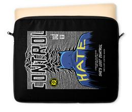 "Чехол для ноутбука 12"" ""Иэн Кёртис Бэтмен"" - batman, joy division, бэтмен, ian curtis, иэн кёртис"