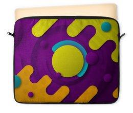 """Чехол для ноутбука 12"""" """"Абстрактный"""" - орнамент, стиль, рисунок, узор, абстрактный"""
