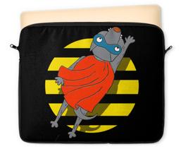 "Чехол для ноутбука 12"" ""СупермЭн"" - супермен, комикс, собака, хипстер, иллюстрация"