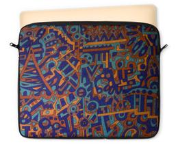 "Чехол для ноутбука 12"" ""y7t6ggjlla11zzz"" - арт, узор, абстракция, фигуры, текстура"