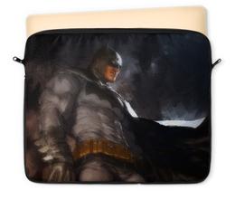 "Чехол для ноутбука 12"" ""Бэтмен"" - комиксы, batman, бэтмен, dc, dc comics"