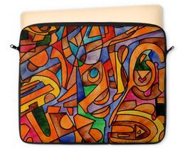 "Чехол для ноутбука 12"" ""W2W2`V61"" - арт, узор, абстракция, фигуры, текстура"