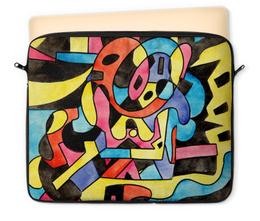 """Чехол для ноутбука 12"""" """"ttt`12ll"""" - арт, узор, абстракция, фигуры, текстура"""