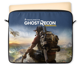 "Чехол для ноутбука 12"" ""Tom Clancys Ghost Recon Wildlands"" - tom clancys ghost recon wildlands, ghost recon, tom clancy, игры, для геймеров"