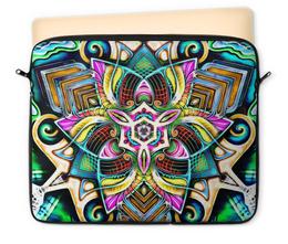 """Чехол для ноутбука 12"""" """"Mandala HD 4"""" - узор, ретро, классика, этно, симметрия"""