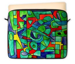 """Чехол для ноутбука 12"""" """"3VVU-;JJ87"""" - арт, узор, абстракция, фигуры, текстура"""
