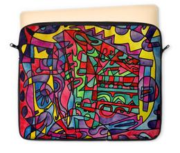 "Чехол для ноутбука 12"" ""SX`ED-0"" - арт, узор, абстракция, фигуры, текстура"