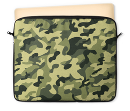 """Чехол для ноутбука 12"""" """"Зеленый хаки"""" - хаки, защита, зеленый хаки"""