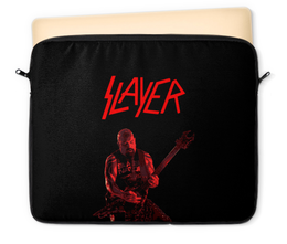 """Чехол для ноутбука 12"""" """"Slayer"""" - рок, slayer, хэви метал, хардрок, слейер"""