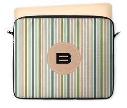 """Чехол для ноутбука 12"""" """"Монограмма"""" - подарок, имя, монограмма, персональный"""