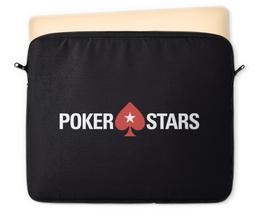 "Чехол для ноутбука 12"" ""POKERSTARS"" - покер, казино, pokerstars, casino, full tilt poker"