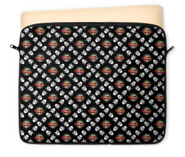 """Чехол для ноутбука 12"""" """"Бармалей"""" - череп, мультфильм, пираты, пират, бармалей"""
