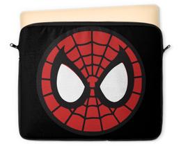 """Чехол для ноутбука 12"""" """"Spider-man / Человек-паук"""" - человек-паук, spider-man, мультфильм, комикс, фильмы"""