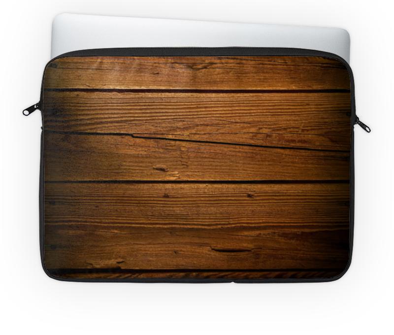 Чехол для ноутбука 14'' Printio Деревянный василий сахаров свободные миры