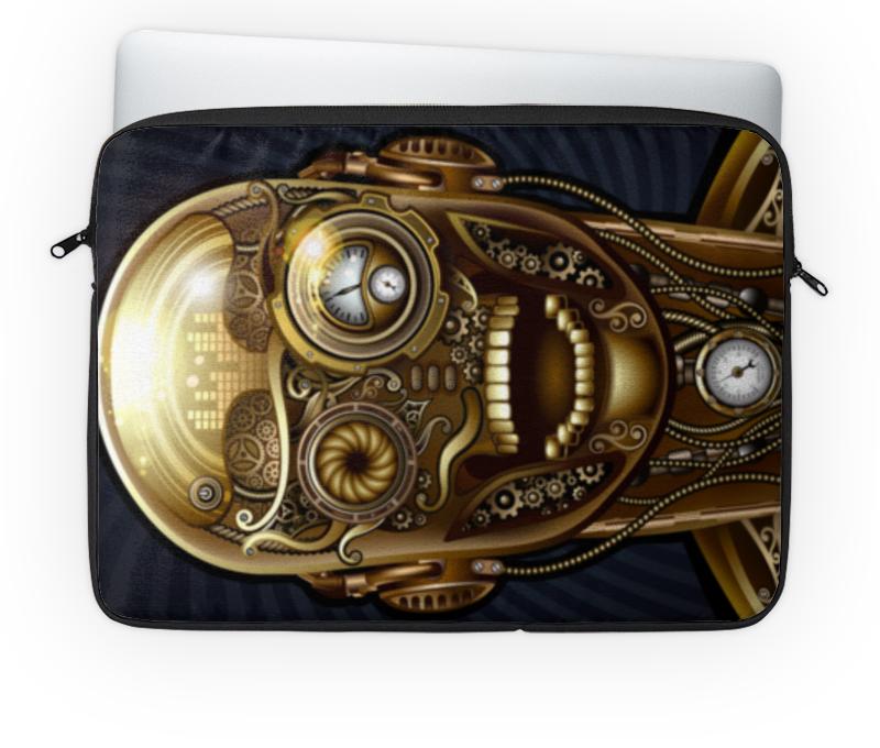 Чехол для ноутбука 14'' Printio Стимпанк-черепа коллекция костей черепа бедуайер де ла к clever
