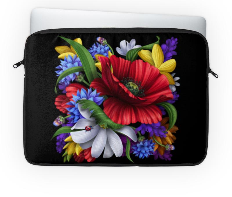 Чехол для ноутбука 14'' Printio Композиция цветов свадебная композиция