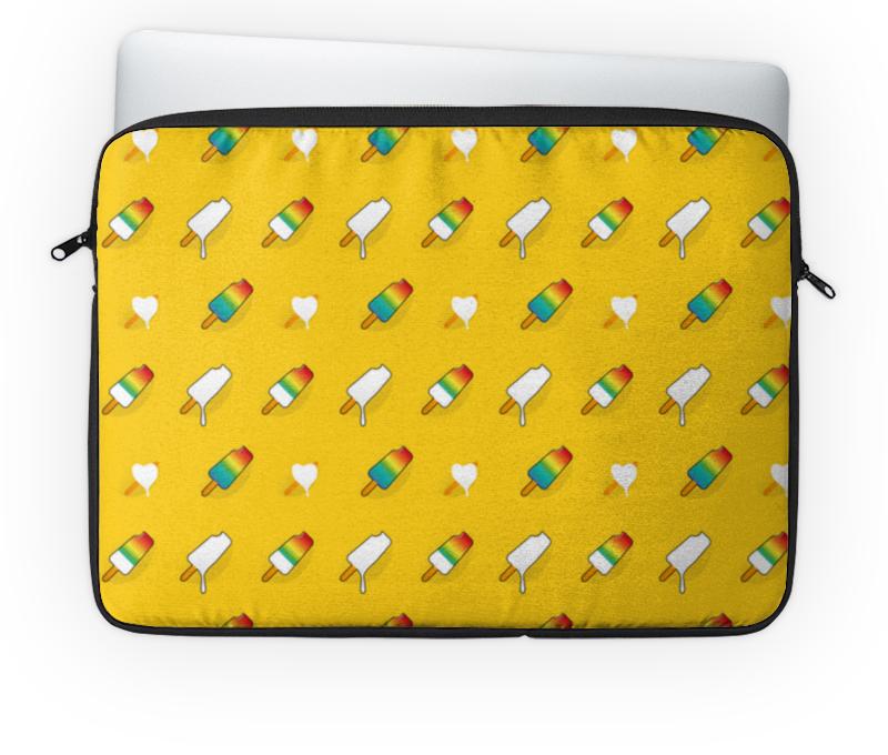 Чехол для ноутбука 14'' Printio Поп арт дизайн. мороженое паттерн плакат a3 29 7x42 printio яркий красивый модный гелакси дизайн паттерн