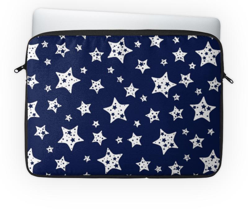 Чехол для ноутбука 14'' Printio Звёзды чехол для карточек пионы на синем фоне дк2017 113