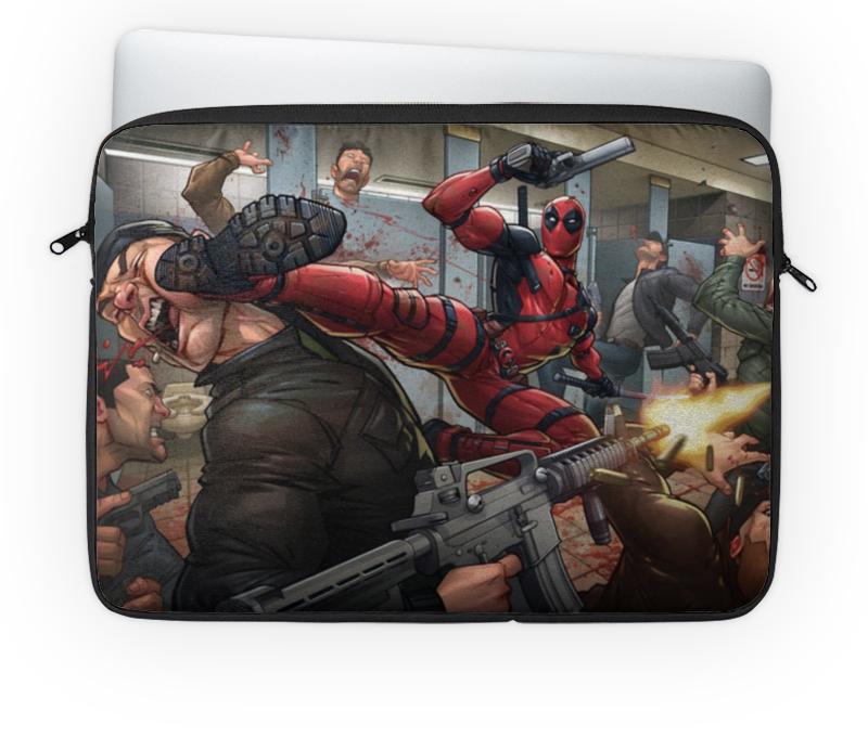 Чехол для ноутбука 14 Printio Deadpool чехол для ноутбука 14 printio дэдпул deadpool
