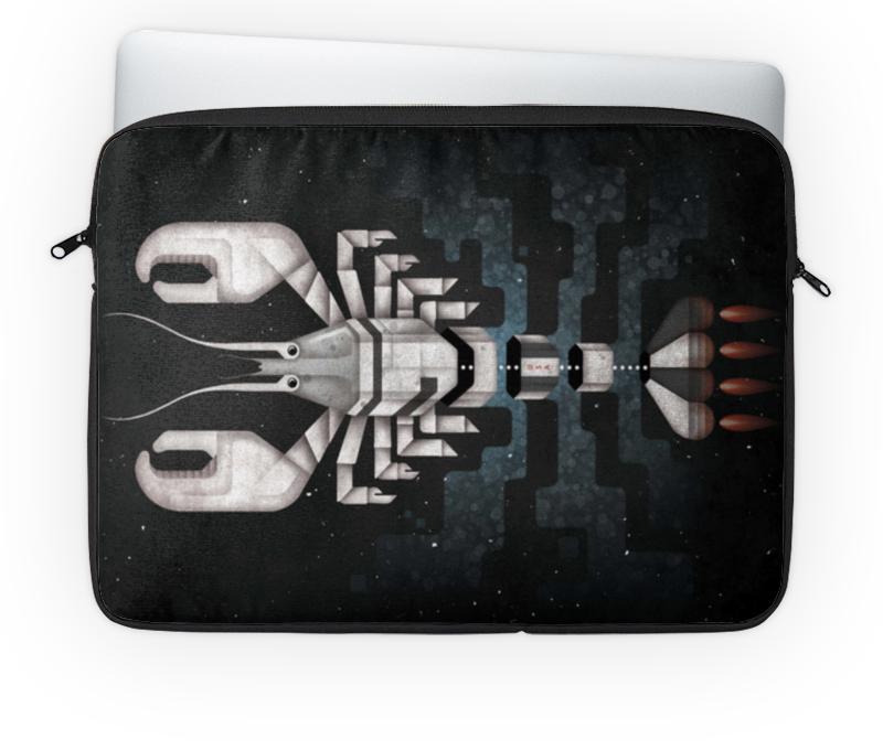 Чехол для ноутбука 14'' Printio Лобстер - ракета чехол для ноутбука 14 printio изгой один звёздные войны