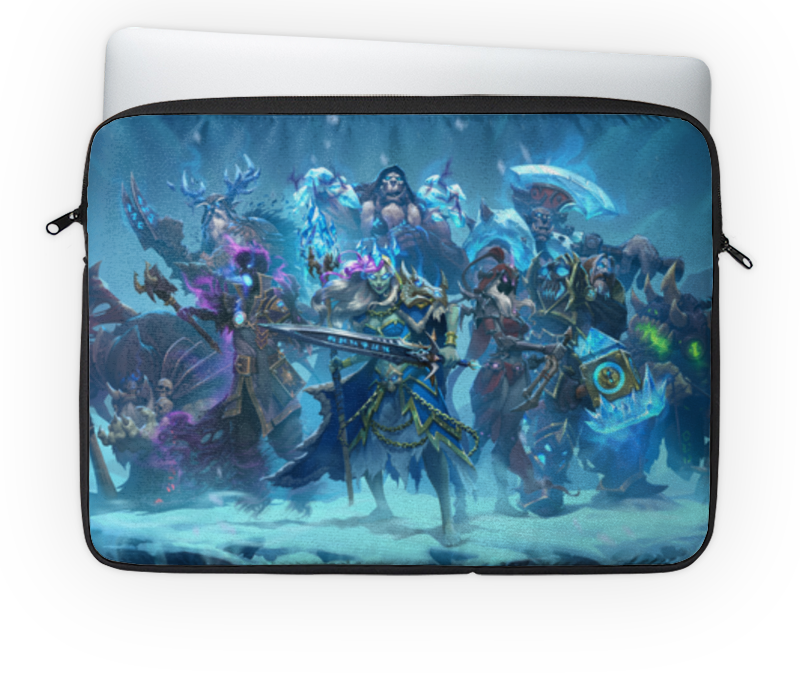 Чехол для ноутбука 14'' Printio Knights of the frozen throne чехол для iphone 6 глянцевый printio knights of the frozen throne